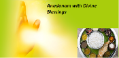 Annadanam with Divine Blessings